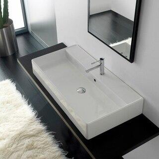 Scarabeo 8031/R-100 Teorema 39.3 Inch Bathroom Sink