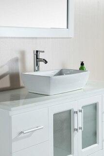 B48-VS-W Bathroom Vanity