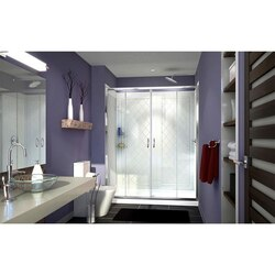 Visions Shower Door in Chrome
