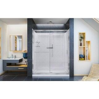 Infinity Z Shower Door 60 Chrome QWall