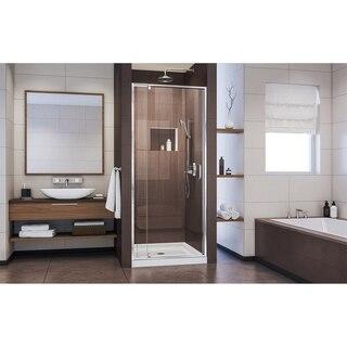 Flex Shower Door Chrome