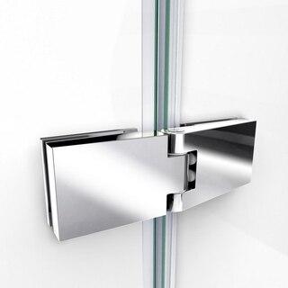 Aqua Ultra Shower Door Hinge Chrome
