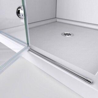 Aqua Fold Shower Door Guide Rail 01
