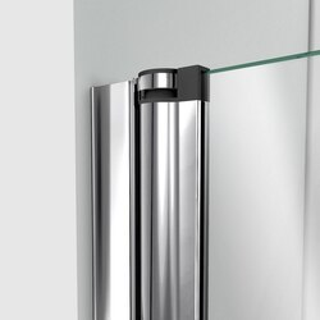 Aqua Fold Shower Door Wall Profile Pivot 01