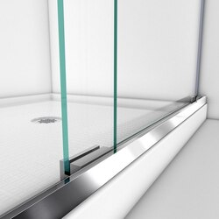 Charisma Shower Door Bottom Guiderail 01