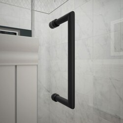 Unidoor Detail Handle Satin Black