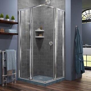 Cornerview Shower Enclosure Open Tile