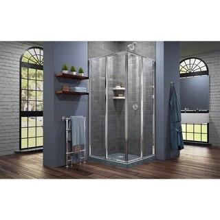Cornerview Shower Enclosure Closed Door