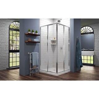 Cornerview Shower Enclosure White Base 01