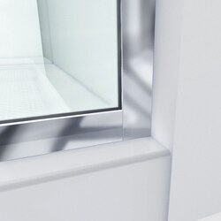 Linea Shower Door Wall Profile Corner 01