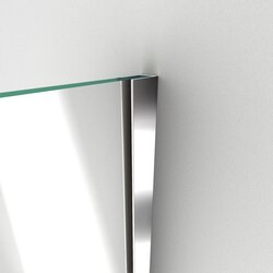Unidoor Plus Shower Door Wall Profile 01