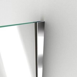 Unidoor Plus Shower Door Wall Profile 01