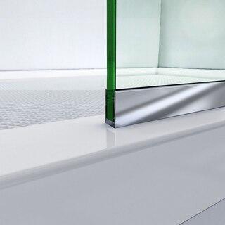 Linea Shower Door Bottom Track 01