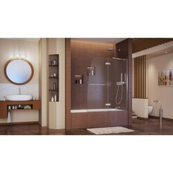 AquaUltra Tub Door Interior Chrome finish