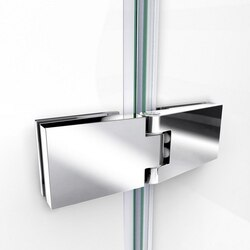 Aqua Ultra Shower Door Hinge Chrome