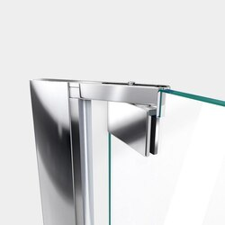 Elegance Shower Door Top Pivot Chrome