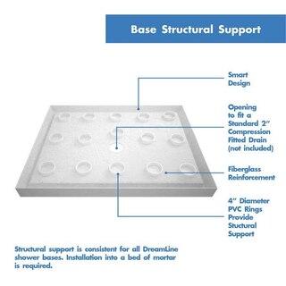 Slimline Shower Base Structural Support 2
