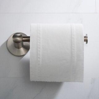 Kraus Kea 18829bn Elie Wall Mount Bathroom Toilet Paper Holder In Brushed Nickel Finish