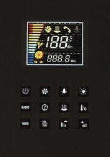 Ariel Platinum DZ956F8 Black Steam Shower