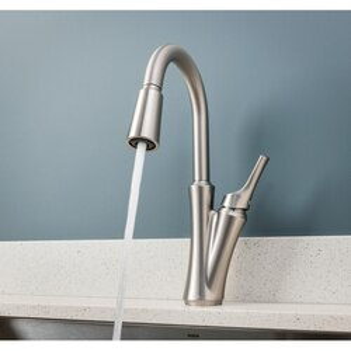 Moen 87304SRS One-Handle High Arc Pulldown Kitchen Faucet Spot ...