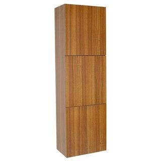 Fresca FST8090TK Teak Cabinet
