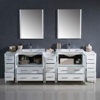 Fresca FVN62-96WH-UNS Torino Vanity