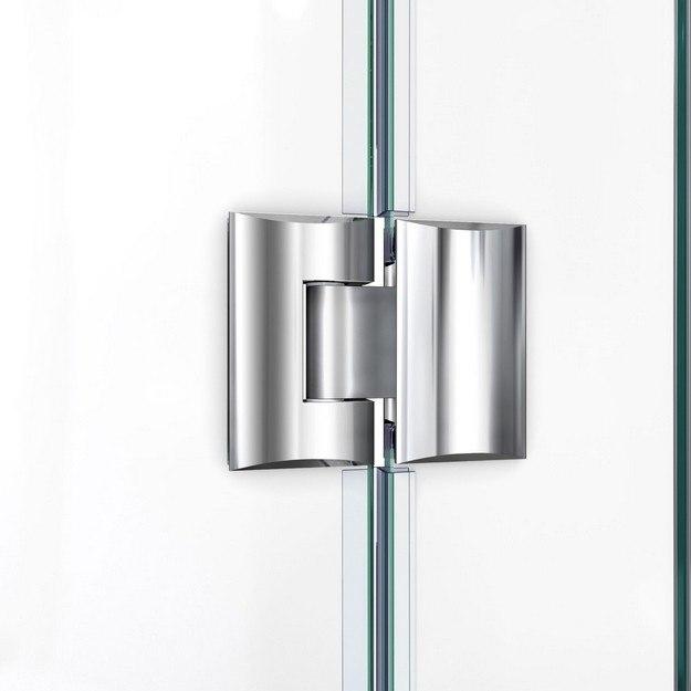 Unidoor X Shower Door Glass To Glass Hinge 01