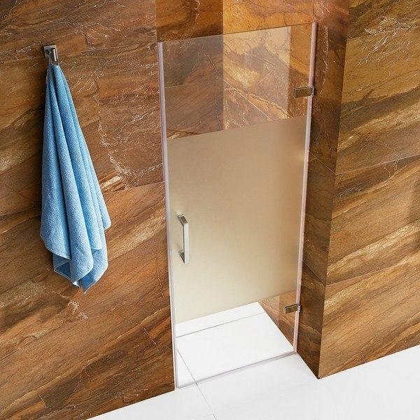 Vigo vg6072chcmc28 soho 28 inch adjustable frameless for 10 panel glass door