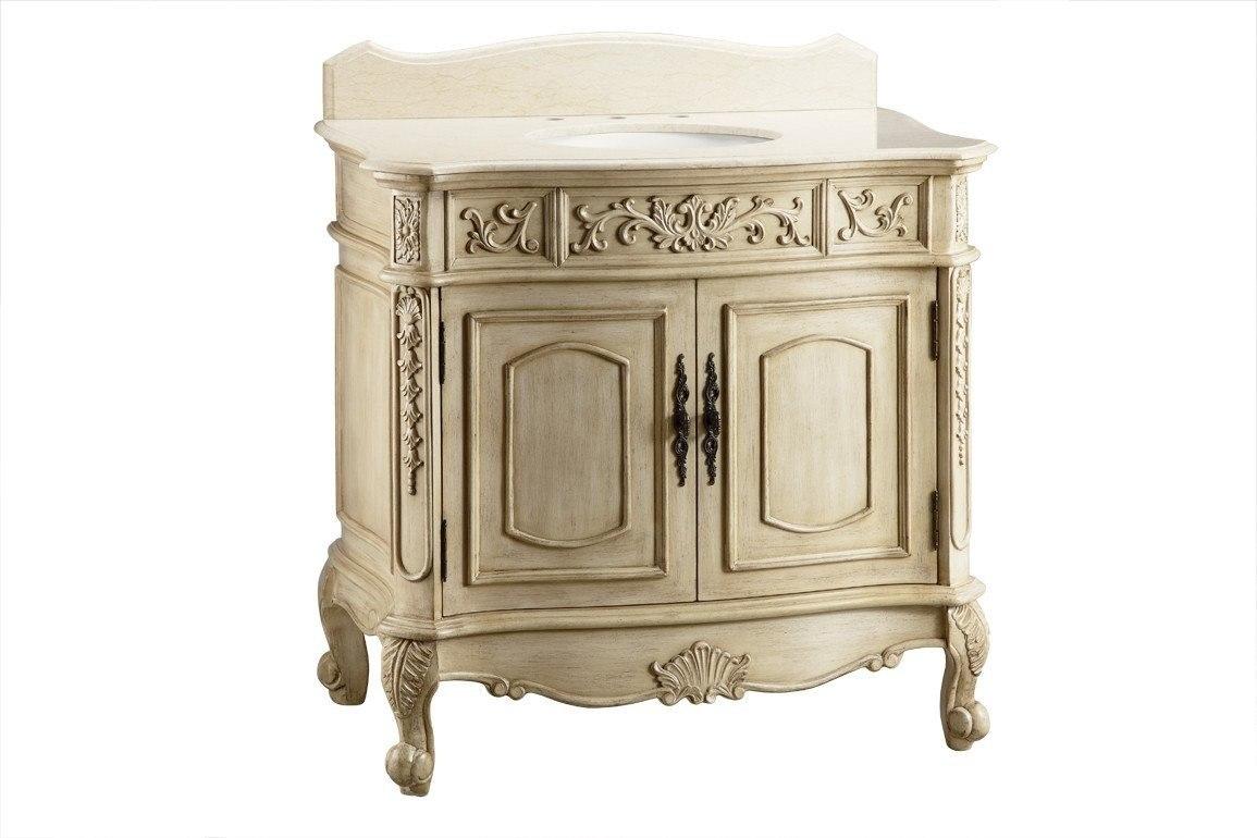 Chans Furniture Cf 35579 Belleville 36 Inch Beige Bathroom