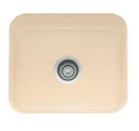 Franke CCK110-19BT Bisquit Cisterna 21 Inch Undermount Single Bowl Fireclay Sink