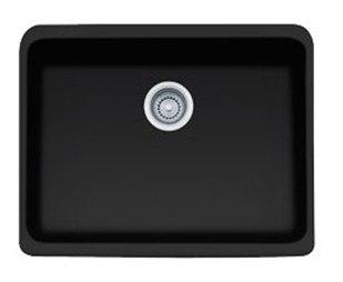 Franke MHK110-24 Manor House 24MB Matte Black Inch Apron Front Single Bowl Fireclay Sink