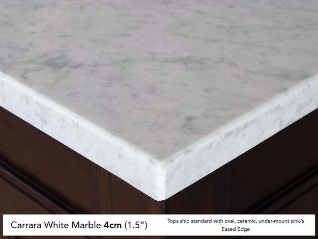 Carrara White Marble 4cm