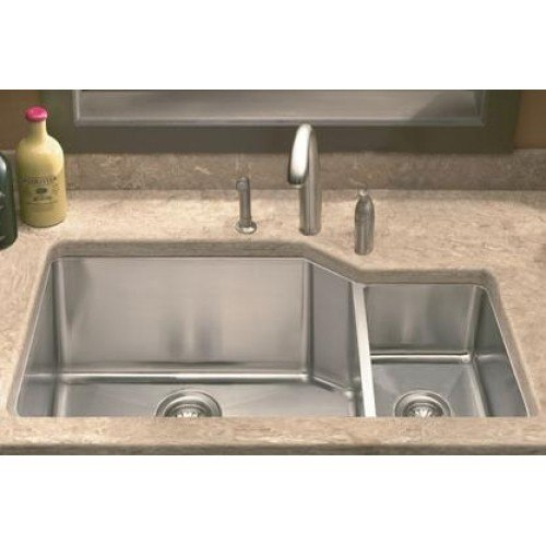 lada ld3020r undermount 36 inch offset double bowl kitchen sink lada ld3020r undermount 36 inch offset double bowl kitchen sink      rh   kbauthority com