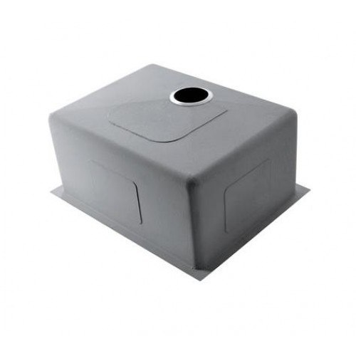 Lada LD3219 Undermount 32 inch Zero Radius Stainless Steel Single Bowl Kitchen Sink