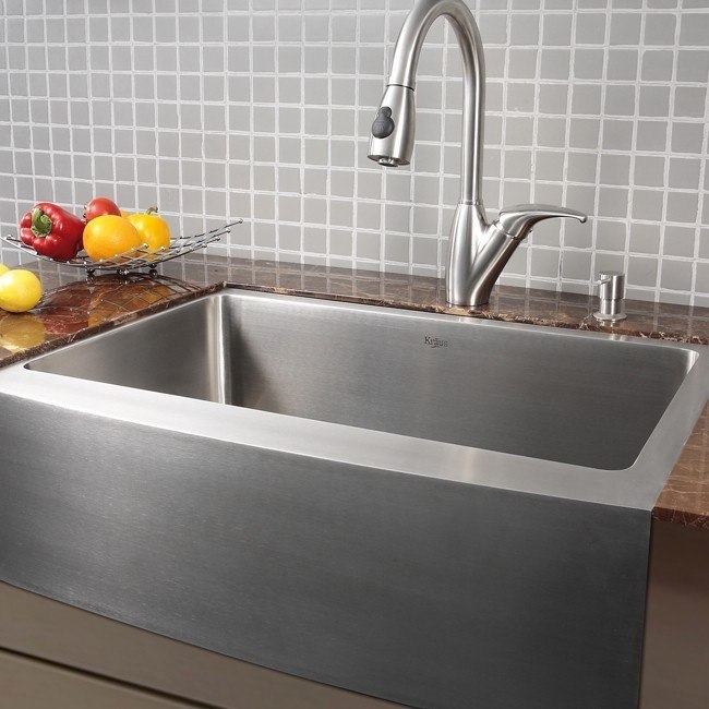 Kraus KHF200 30 Faucet Sink Combination
