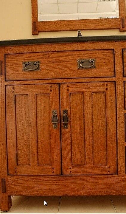 Sagehill Designs Ac3621d Rustic Oak American Craftsman 36
