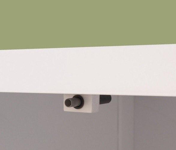 Vanity Cabinet With Adjustable Shelf