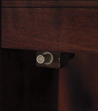 "CappuccinoEaton 24"" Wood Vanity Cabinet"