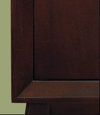 "Cappucino Cabinet 30"""