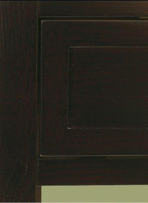 Modern Vanity Cabinet With Open Display Shelf