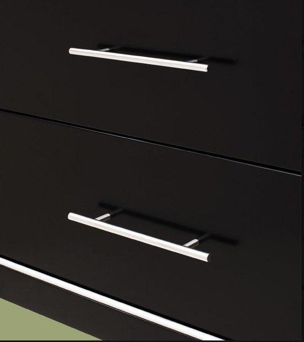 "Wood Vanity Cabinet 24"""