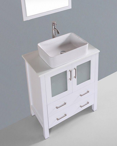"30"" Bosconi AW130RC Single Vanity"