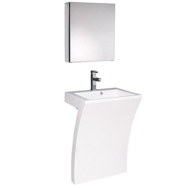Fresca FVN5024WH Quadro Vanity