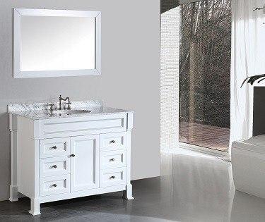 43'' Bosconi SB-278WH Contemporary Single Vanity