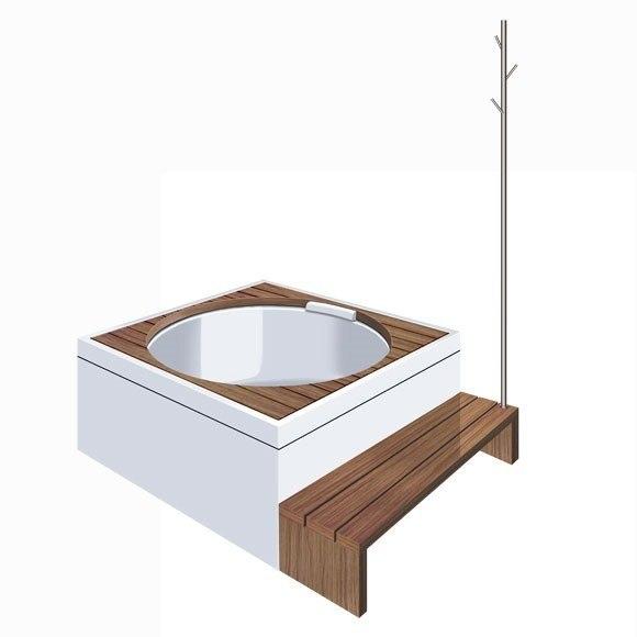 duravit 701024000000000 blue moon acrylic panel for freestanding version for 700143000000090 bathtub. Black Bedroom Furniture Sets. Home Design Ideas