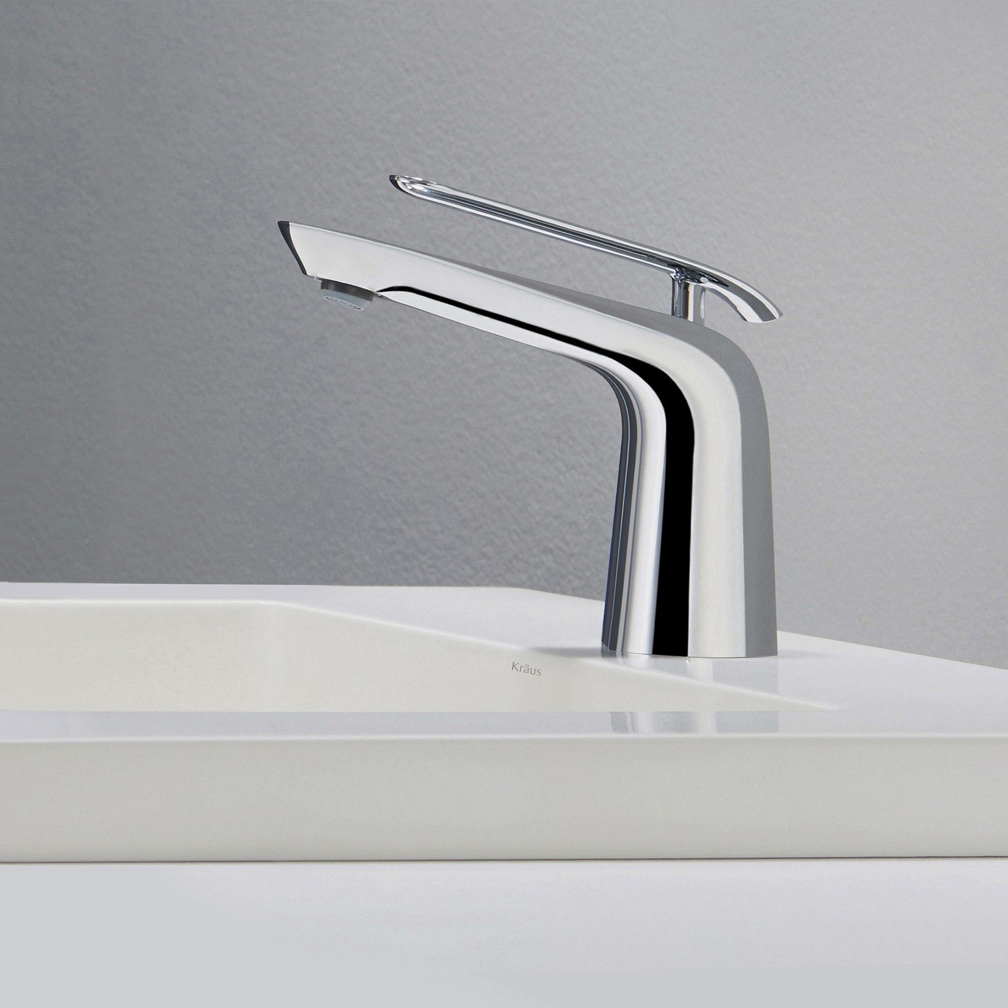 Seda Single Lever Basin Bathroom Faucet Chrome