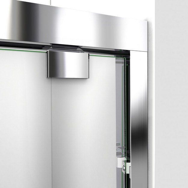 Encore Shower Door Wall Profile Chrome