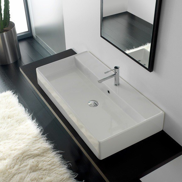 scarabeo 8031 r 100 teorema 39 4 inch bathroom sink 8031 r 100 wh 8031 r 100 32 8031 r 100 33. Black Bedroom Furniture Sets. Home Design Ideas