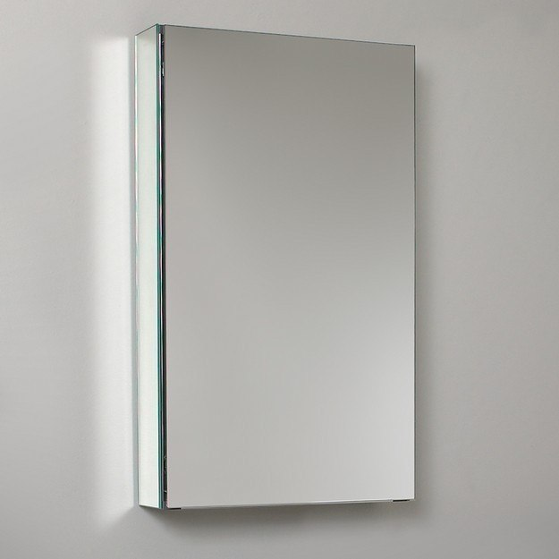 Fresca Fmc8015 15 Inch Wide Bathroom Medicine Cabinet With Mirrors