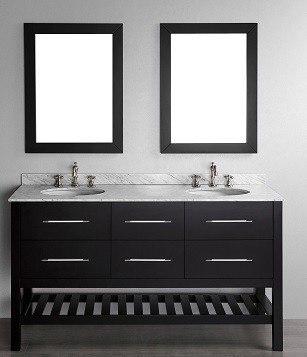 "60"" Bosconi SB-250-5 Contemporary Double Vanity"